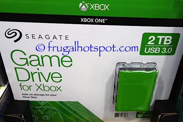 Seagate 2TB Xbox Game Drive Portable Hard Drive Costco | Frugal Hotspot