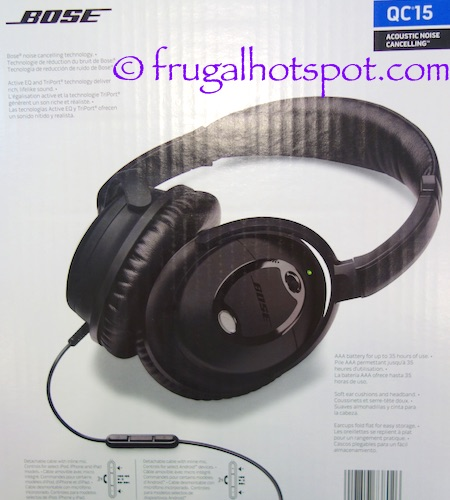 Bose QuietComfort15 Acoustic Noise Cancelling Headphones