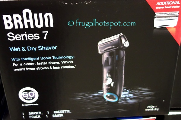 Braun Series 7 Wet & Dry Electric Shaver Costco | frugal hotspot