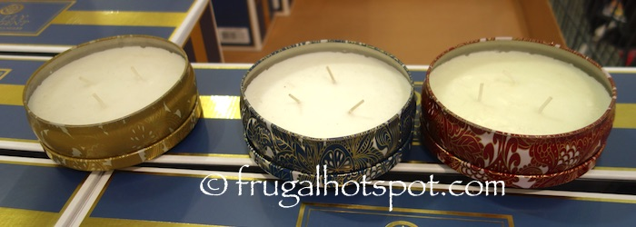 Simply Indulgent Scented Luxury Candles 3-Pack Costco | Frugal Hotspot