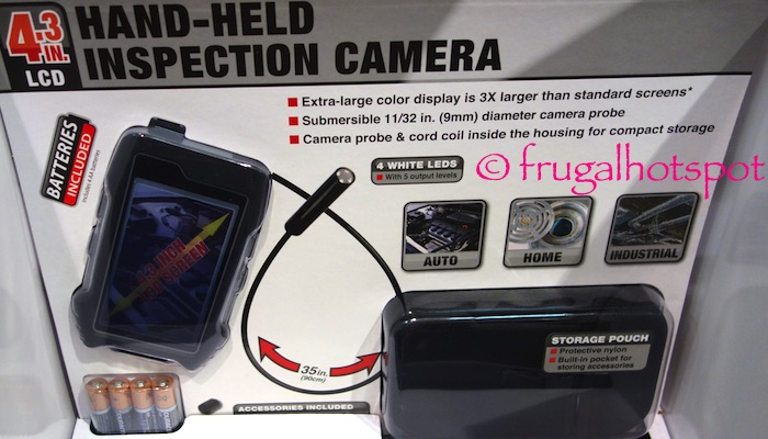 "4.3"" LCD Handheld Inspection Camera Costco 