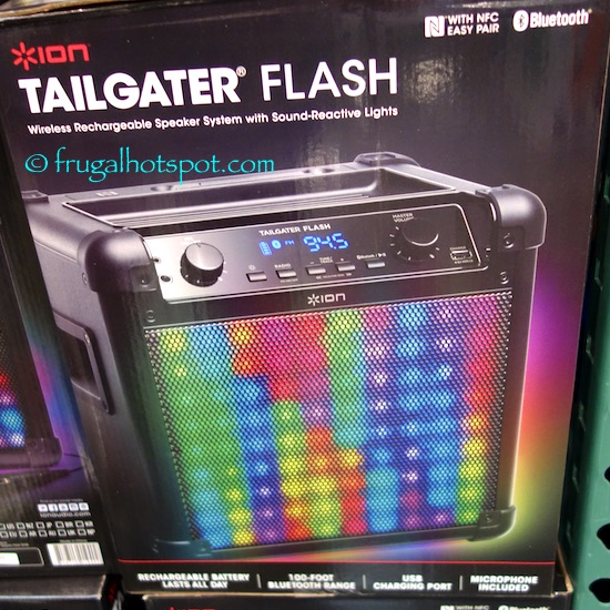 Costco Sale: Ion Tailgater Flash Speaker With Lights $79