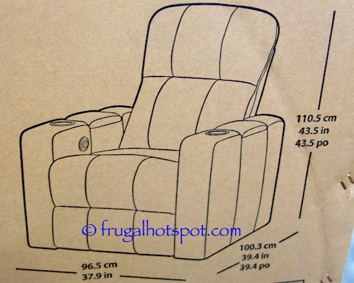 Pulaski Furniture Leather Home Theater Power Recliner Dimensions Costco | Frugal Hotspot  sc 1 st  Frugal Hotspot & Costco Sale: Pulaski Furniture Leather Home Theater Power Recliner ... islam-shia.org