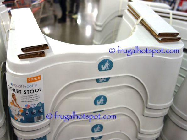 Squatty Potty Toilet Stool ECCO 2-Pack at Costco