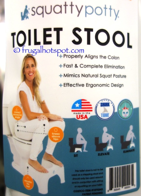 Squatty Potty Toilet Stool Ecco 2 Pack Costco Frugal