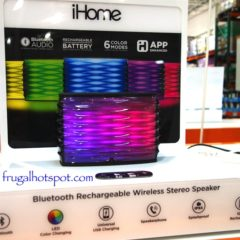 Costco Sale: iHome IBT90 Color Changing Speaker $49.99