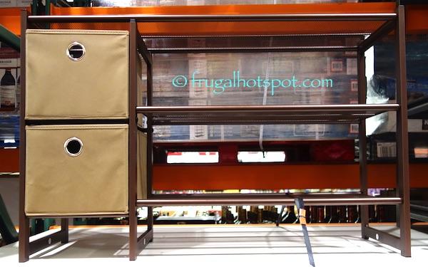 39u2033 L x 12.6u2033 W x 25.3u2033 H (99.1 x 32.1 x 64.5 cm) & Costco Sale: Organize It All 3-Tier Metal Shoe Rack with Storage ...