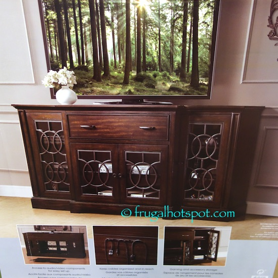 Costco Sale Bayside Furnishings 72 Quot Tv Console 479 99