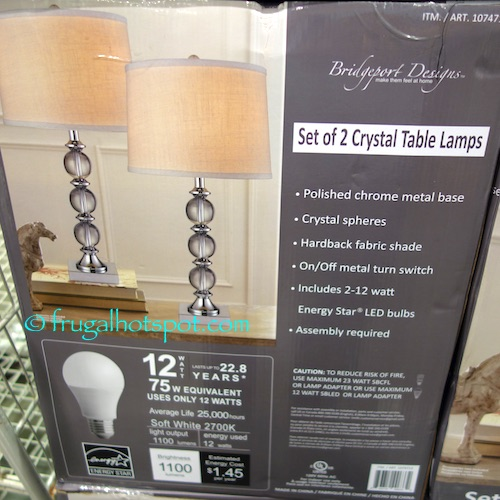 Led Table Lamp Costco Best Inspiration For Table Lamp