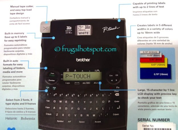 Brother P-Touch Label Maker PT-1890C at Costco