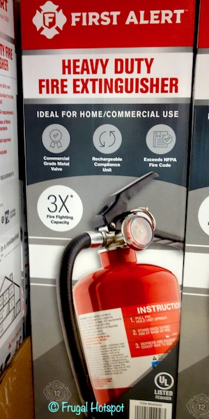 First Alert Heavy Duty Fire Extinguisher Costco