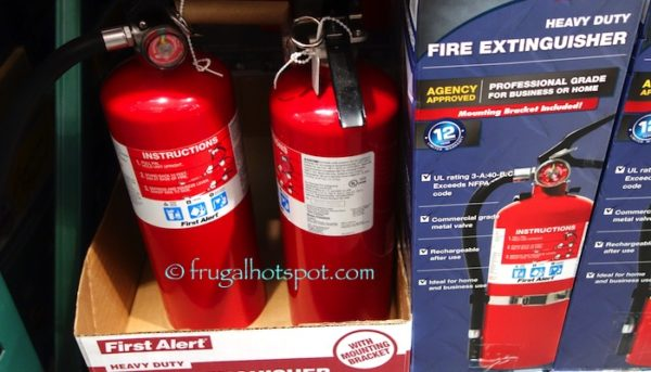 First Alert Heavy Duty Fire Extinguisher at Costco