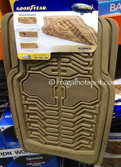 Costco Sale: Goodyear Rubber Floor Mat 4-Pc Set $14.99