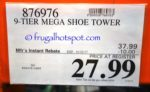 Costco Sale Price: Neatfreak 9-Tier Mega Shoe Tower