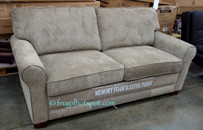 Costco sofa sleeper taraba home review for Beeson fabric queen sleeper chaise sofa