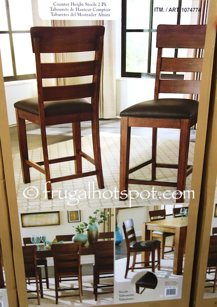 Counter Height Chairs Costco : Costco Sale: Universal Broadmoore 2-Pk Counter Height Stools $199.99 ...