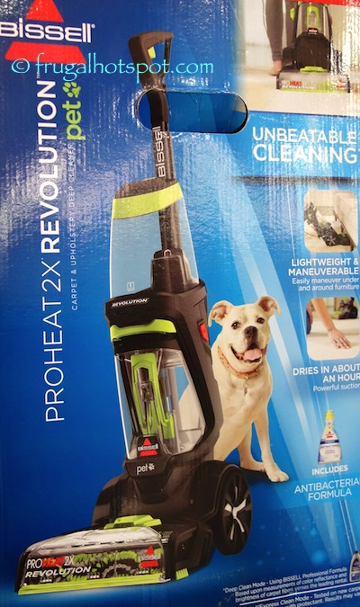 costco sale bissell proheat 2x revolution pet carpet cleaner