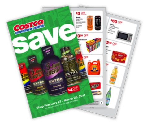 Costco Business Center Coupon Book: February 27, 2017 - March 25, 2017.