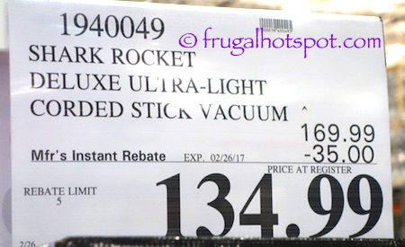 item this product was spotted at the covington wa location price and may vary so it may not be available at your local costco or - Shark Rocket Ultra Light