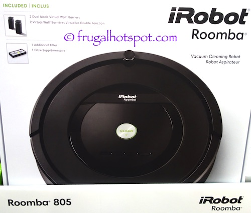 iRobot Roomba 805 Vacuum cleaning Robot at Costco