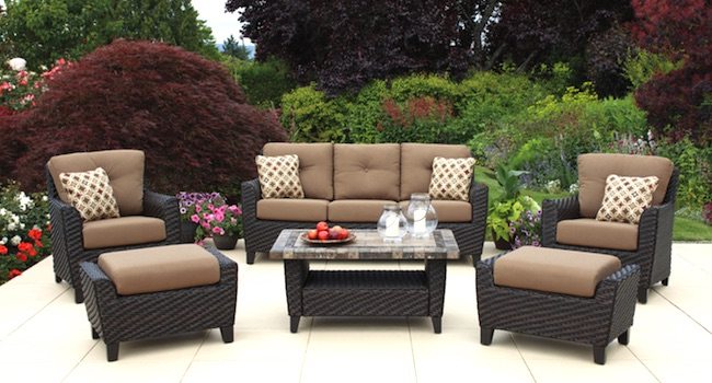 Costco Agio International 6 Pc Woven Seating Group $1 679 99