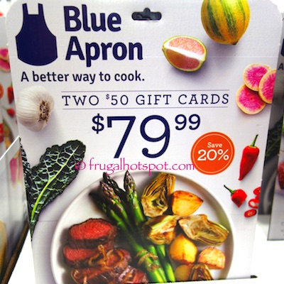 costco: blue apron (2) $50 gift cards $79.99 | frugal spot