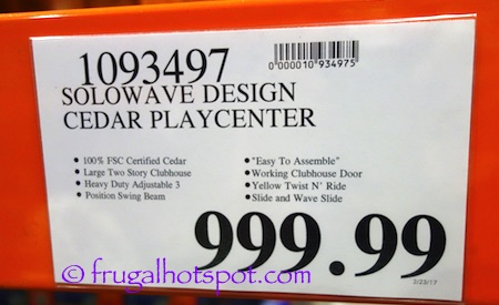 Cedar Summit Play Canyon Ridge Play Set | Costco Price