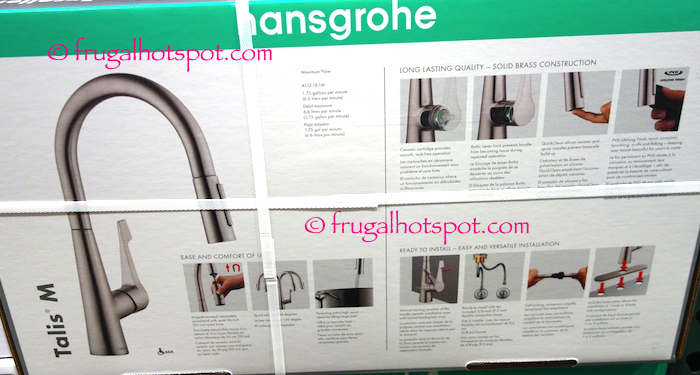 Costco Sale Hansgrohe Talis M Pull Down Kitchen Faucet