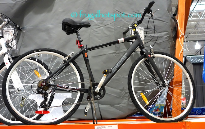 Features 18 Aluminum Hybrid Frame Vader Comfort Saddle Seat Shimano 7 Sd Drive Revo Shifter 700c Infinity Double Wall Alloy