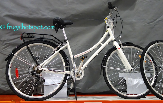 Features: • 17″ Aluminum frame • Vader comfort saddle seat • Shimano 7 Speed drive • Shimano REVO shifter • 700c Infinity double wall alloy