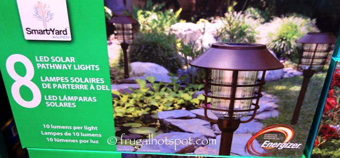 Costco Sale: SmartYard LED Solar Pathway Lights 8-ct $39.99