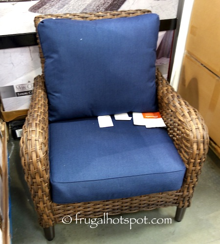 Admirable Costco Sale Studio By Brown Jordan Woven Accent Chair Pabps2019 Chair Design Images Pabps2019Com