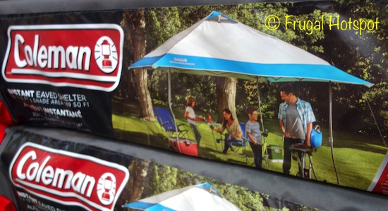 Costco Sale: Coleman Instant Eaved Shelter 13' x 13' $99 99 | Frugal