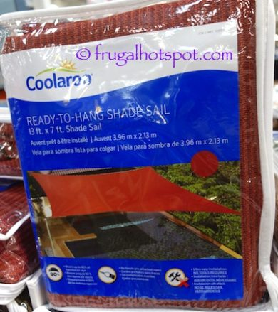 Costco Sale: Coolaroo Ready-To-Hang Shade Sail $20 99