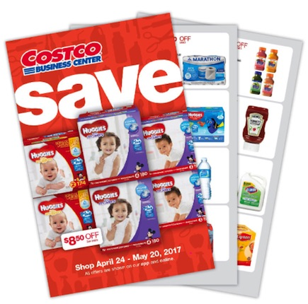 Costco Business Center Coupon Book: April 24, 2017 – May 20, 2017. Prices Listed.
