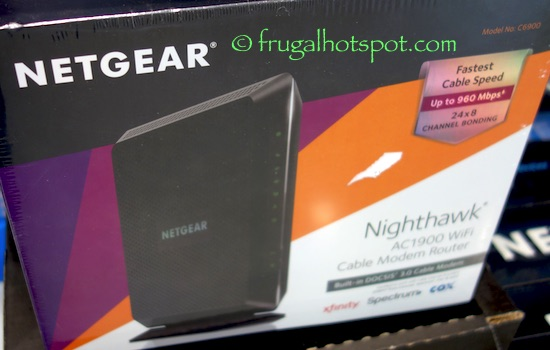 Costco Sale: Netgear Nighthawk AC1900 WiFi Cable Modem Router $149.99