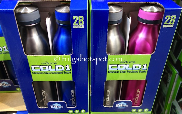 Costco Sale: Reduce COLD-1 S/S Insulated Bottle 2-Pk $9.99