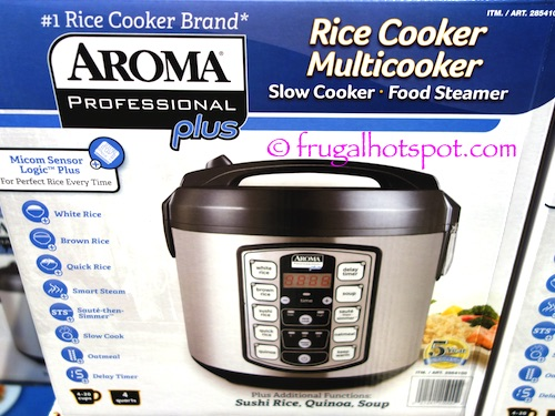 aroma rice cooker costco manual