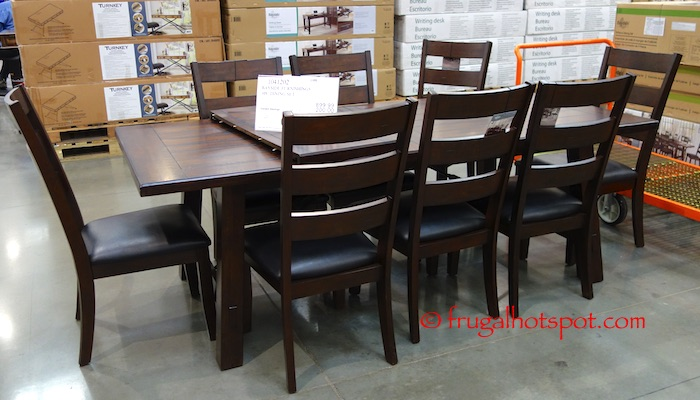 Costco Sale Bayside Furnishings 9 Pc Dining Set 69999  : Bayside9DiningReal from www.frugalhotspot.com size 700 x 400 jpeg 92kB
