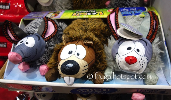 Costco: Happy Tails Loonie Friends Dog Toys 3-Pk $10.99