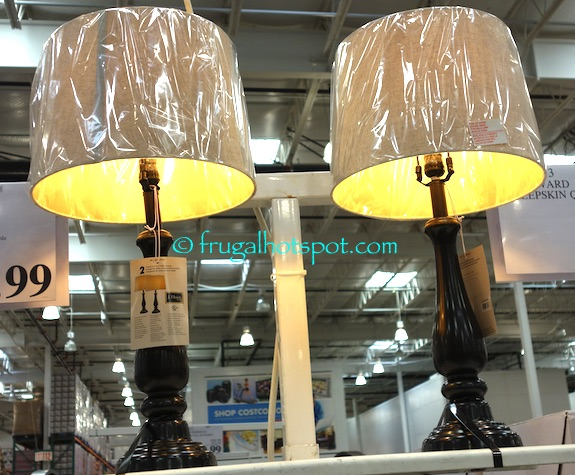Costco Sale J Hunt Home 2 Pk Table Lamps 59 99 Frugal Hotspot