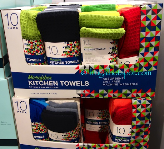 Costco Sale: Town & Country Living Kitchen Towels 10-Pk $6.99