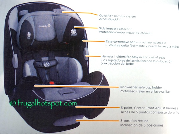 Harness Holders For Easy In And Out Of Seat O Dishwasher Safe Cup Holder 5 Point Center Front Adjust 3 Position Recline