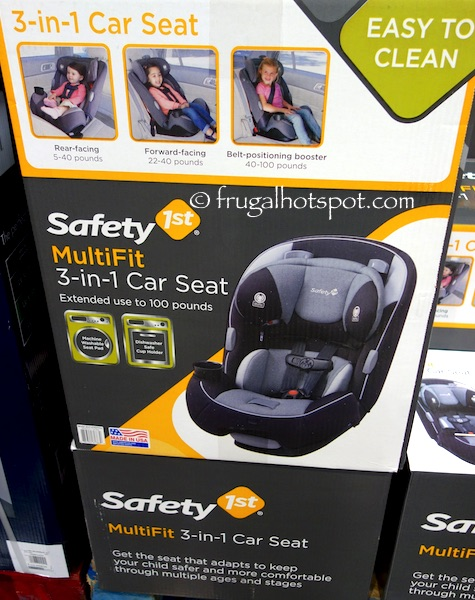 Costco Has The Safety 1st MultiFit 3 In 1 Car Seat On Sale For 7999 After Manufacturers Instant Rebate From July 16 2018 Through 29