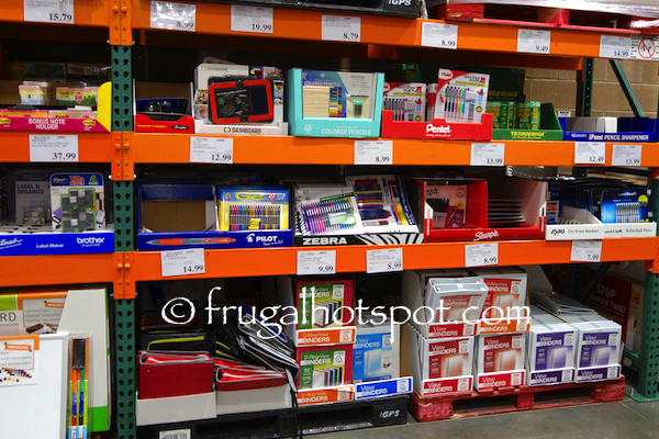 although the selection may be limited costco offers good quality school and office supplies lucky us some of these products are on sale