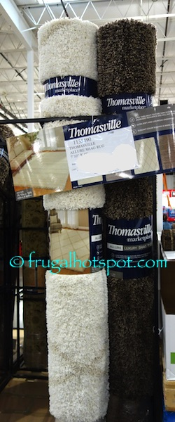 "Costco Sale: Thomasville Marketplace Allure Shag Rug 7'10"" x 10′ $179.99"
