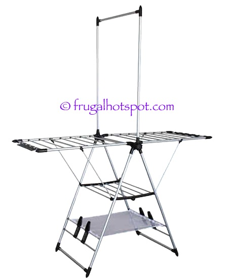 Clothes Drying Rack Costco Awesome Costco Sale Vanderbilt Home Gullwing Folding Drying Rack 6060