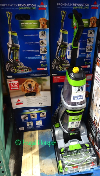 costco sale bissell proheat 2x revolution pet deluxe carpet cleaner