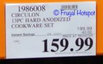 Costco Sale Price: Circulon 13-Piece Hard Anodized Cookware Set
