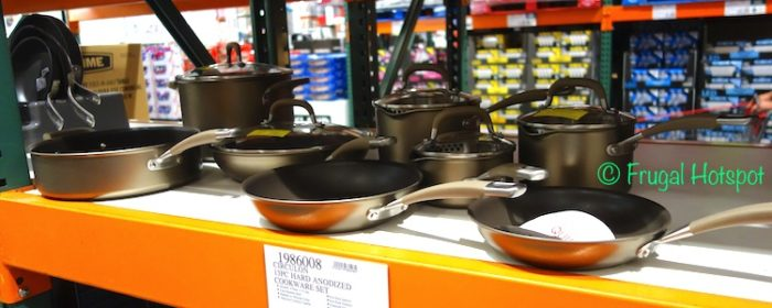 Circulon 13-Piece Hard Anodized Cookware Set at Costco